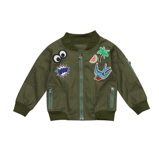 Child Jacket Outerwear Girls Kids Tops Clothes Hoodie Fun cartoon ...