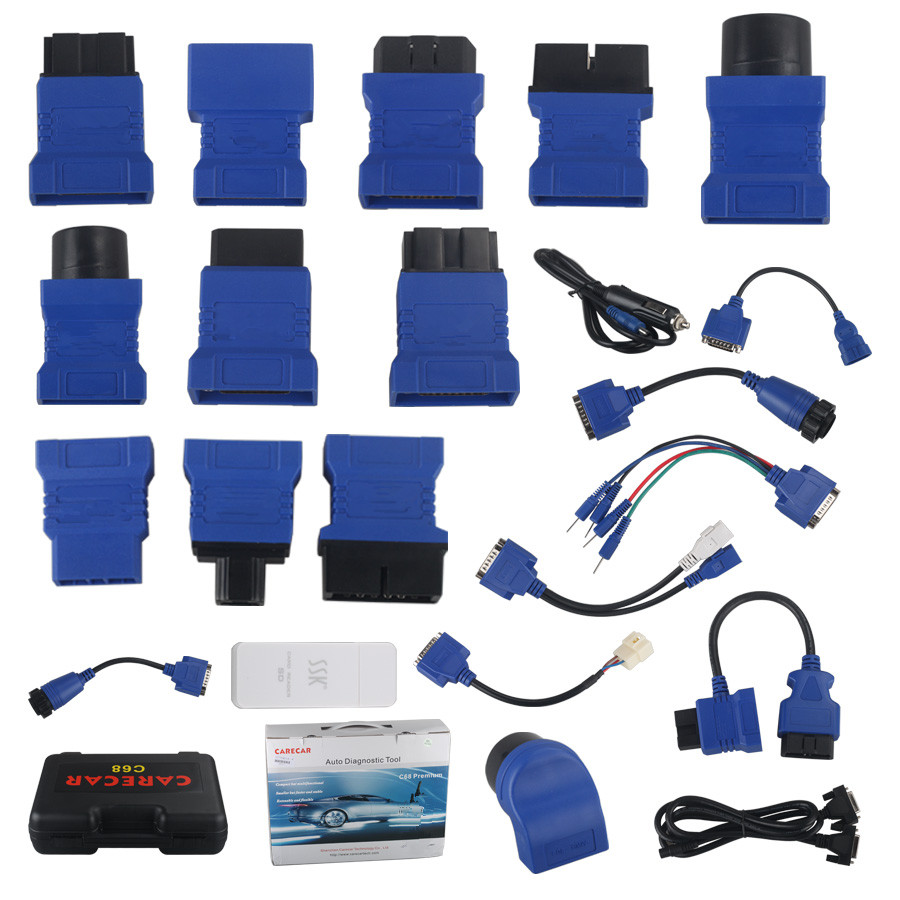 Whole Set Connector Package For Tuirel S777 Connect Cable S777 Professional Auto Diagnostic Tool