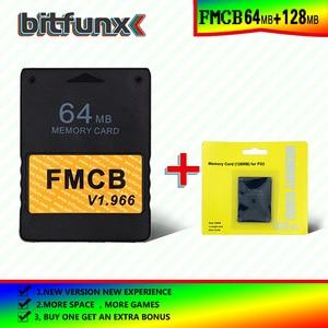 Image 5 - Bitfunx tarjeta de memoria Free McBoot (FMCB), 64MB v, 1.966, nueva versión, 8/16/32/128/MB