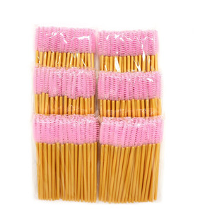 Image 5 - 1000pcs חד פעמי מסקרה שרביטים מוליך בתפזורת ריס הארכת מברשת גבות מברשות כלים עבור אביזרי נשים