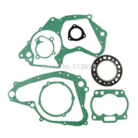 For Suzuki RM250E 1984 RM250F RM250 E F 1985 Engine Gasket Set Cylinder Top End Kit Crankcase Cover Exhaust Gaskets