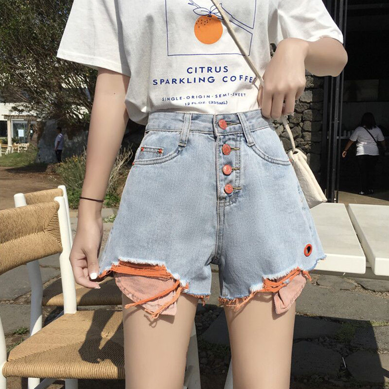 Cheap Wholesale 2019 New Spring Summer Autumn  Hot Selling Women's Fashion Casual Sexy Shorts Outerwear BP102