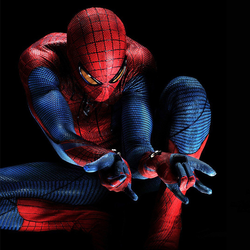 Cosplay <font><b>Kids</b></font> Child Boy <font><b>Amazing</b></font> <font><b>Muscle</b></font> <font><b>Spiderman</b></font> <font><b>Costume</b></font> Movie Character Classic Marvel Superhero Christmas Halloween Carnival Pa