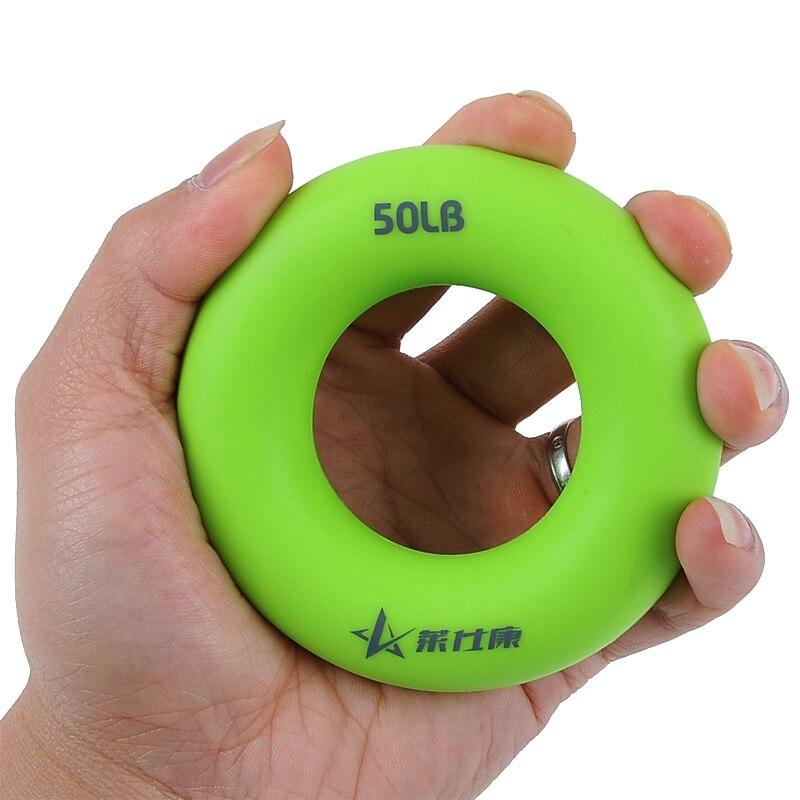Hand Gripper Grip Silikonring Widerstand Krafttrainer Trainingsgerät