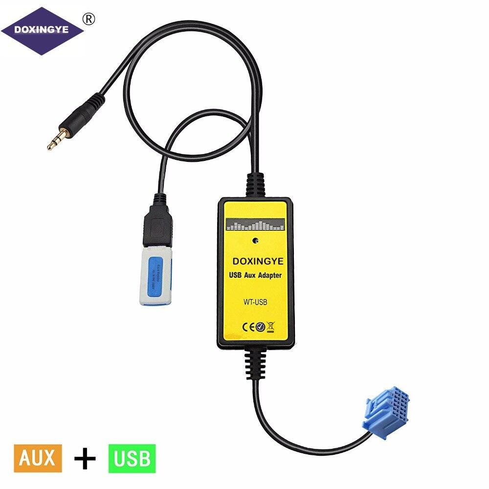 New Aux Input Mp3 Player Digital Cd Interface Adapter: Aliexpress.com : Buy DOXINGYE Car USB AUX Adapter Car