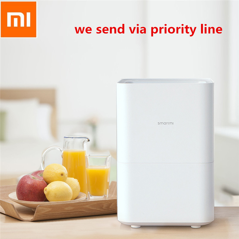 Xiaomi Smartmi Pure Evaporative Air Humidifier With 4L Large Capacity Tank Automatic Water Evaporation Mist Maker  App Control