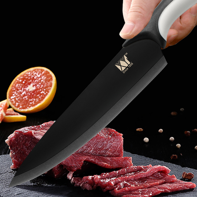 Kitchen Stainless Steel Knives Set