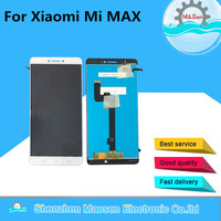 M Sen LCD Screen Display Touch Panel Digitizer For 6 44 Xiaomi Mi MAX White Black