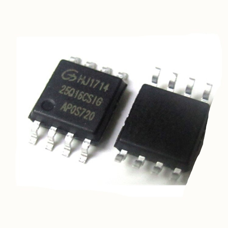 GD25Q16CSIG Memory: NOR Flash; 16Mbit; Quad I/O, SPI; 120MHz; 2.7,3.6V; SOP8