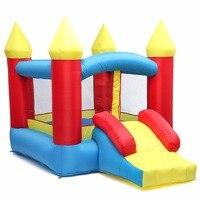 Inflatable Toys Air Bouncer Moonwalk Slide Bouncer House Jumper Kids Play Center For Kids Jumping