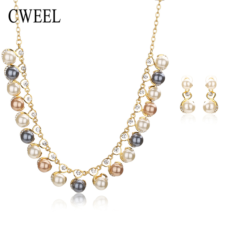 Buy cweel fashion simulated pearl jewelry for Buying jewelry on aliexpress