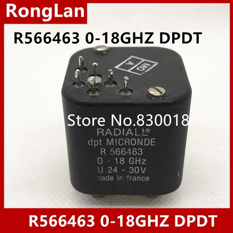 [SA] RADIALL R566463 0-18 GHZ DPDT RF коаксиальный переключатель 24-30 V SMA