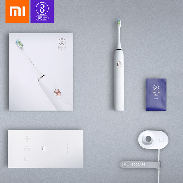 Xiaomi mijia Soocas X3 Sonic Electric Toothbrush USB Rechargeable Upgraded adult Waterproof Ultrasonic automatic Toothbrush