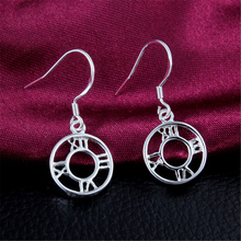 New Fashion Jewelry 925 Sterling Silver Earrings Plating  Tire Ear Earrings Girls Fashion Earring Anti-Allergic Gift