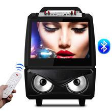 Bluetooth Колонка на колесиках с 15 дюймовым экраном fm радио