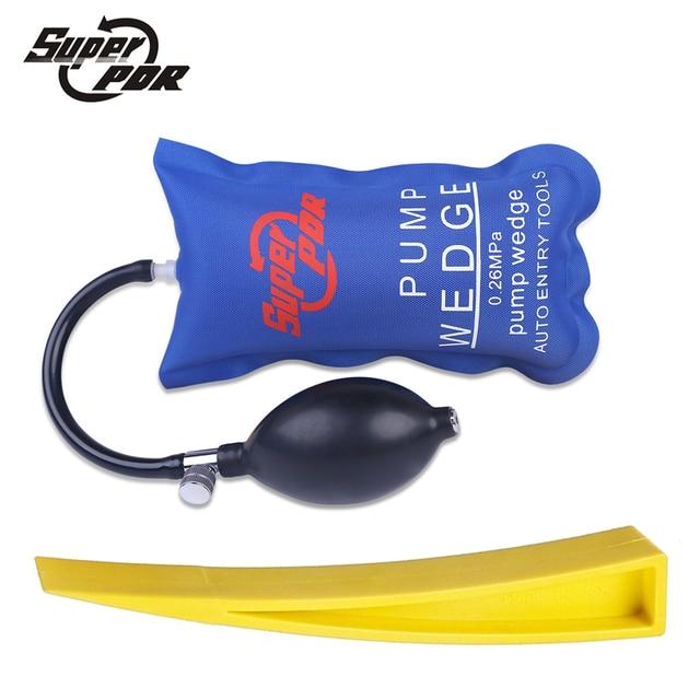 Super PDR Pump Wedge Locksmiths Tools Auto Air Wedge Airbag Lock Pick Set Auto Entry Tools Professional Open Car Door Lock tools