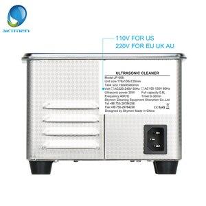 Image 2 - Skymen 800 مللي الفولاذ المقاوم للصدأ JP 008 بالموجات فوق الصوتية الأنظف حمام الرقمية الموجات فوق الصوتية موجة تنظيف خزان للعملات مسمار أداة جزء