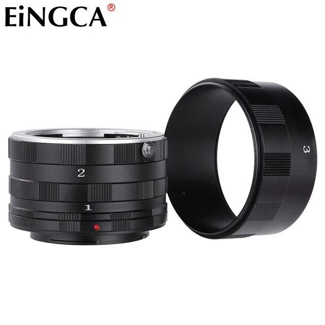Lente da câmera adaptador anel macro tubo de extensão para sony minolta alpha a900 a580 a550 a390 a77 a99 a58 a37 a200 câmera
