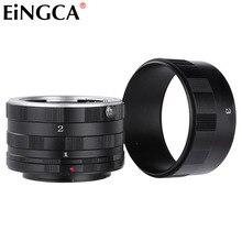 Tube dextension Macro pour lentille de caméra pour Sony Minolta Alpha A900 A580 A550 A390 A77 A99 A58 A37 A200
