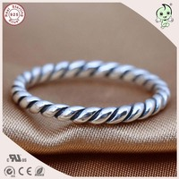 High Quality Famous BrandSimple Spiral Style 100% 925 Sterling Silver Spiral Circle Toe Ring