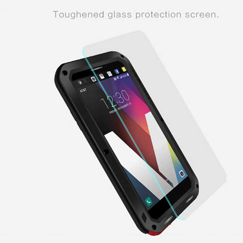 Armor Metal Case For LG G6 Cover Powerful Aluminum Shockproof Life  Waterproof Cases For LG G4 G5 Full Body Protective Coque