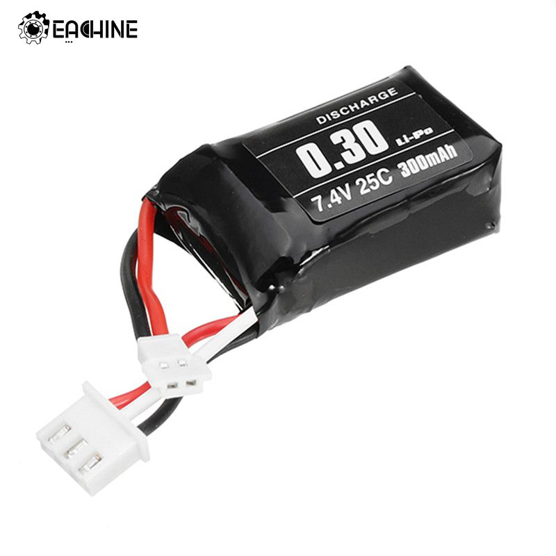 Eachine Q90C Flyingfrog FPV Racing Quadcopter Spare Parts 2S 7.4V 300mAh 25C Rechargeable Lipo Battery