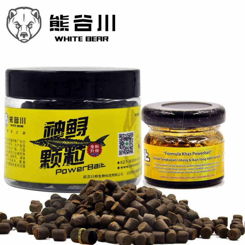Particules de caoutchouc petite pêche esturgeon ours Tanigawa médecine concentré saveur concentrée malodorante fosse noire esturgeon géant