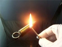 Брелок-зажигалка пуля матч постоянный кемпинга безопасности открытый водонепроницаемый