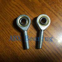 8mm SA8T/K POSA8 SA8 rod end joint bearing metric male right hand thread M8x1.25mm rod end bearing