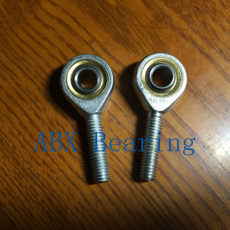 8mm SA8T/K POSA8 SA8 rod end joint bearing metric male right hand thread M8x1.25mm rod end bearing 1pcs lot 16mm female right hand thread rod end joint bearing metric thread m16x2 0mm si16t k phsa16 brand new