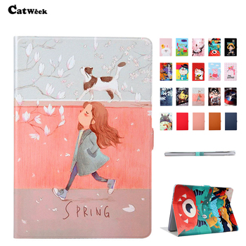 For Huawei T5 10 Case Cover PU Leather Slim Shockproof Print