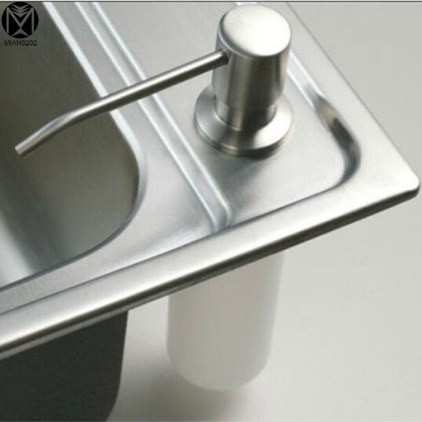 kitchen sink dispenser high quality soap dispenser promotion deck mount brushed 2671