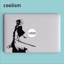 Bleach Kenpachi Zaraki Laptop Decal Sticker untuk Macbook Decal Air 13 Pro Retina 11 12 15 inch Mi Mac Book Kulit Notebook Sticker(China)