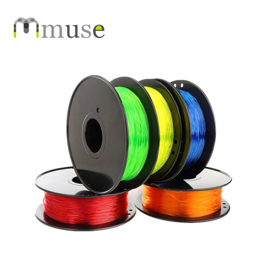 0.8kg/Roll 1.75mm TPU Flexible 3D Filament for Makerbot Reprap Mendel UP 3D Printer yz04 175 1 75mm makerbot reprap mendel filament for 3d printer red black