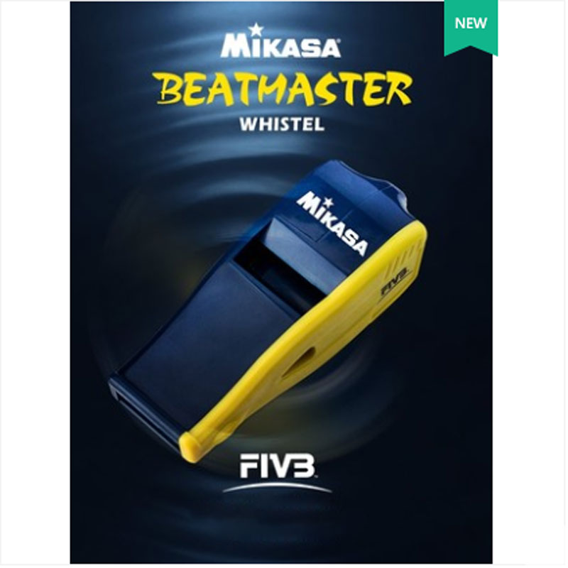 Japan Original Mikasa Volleyball Referee Special Whistle FIVB Certification Professional Competition High Frequency With Lanyard