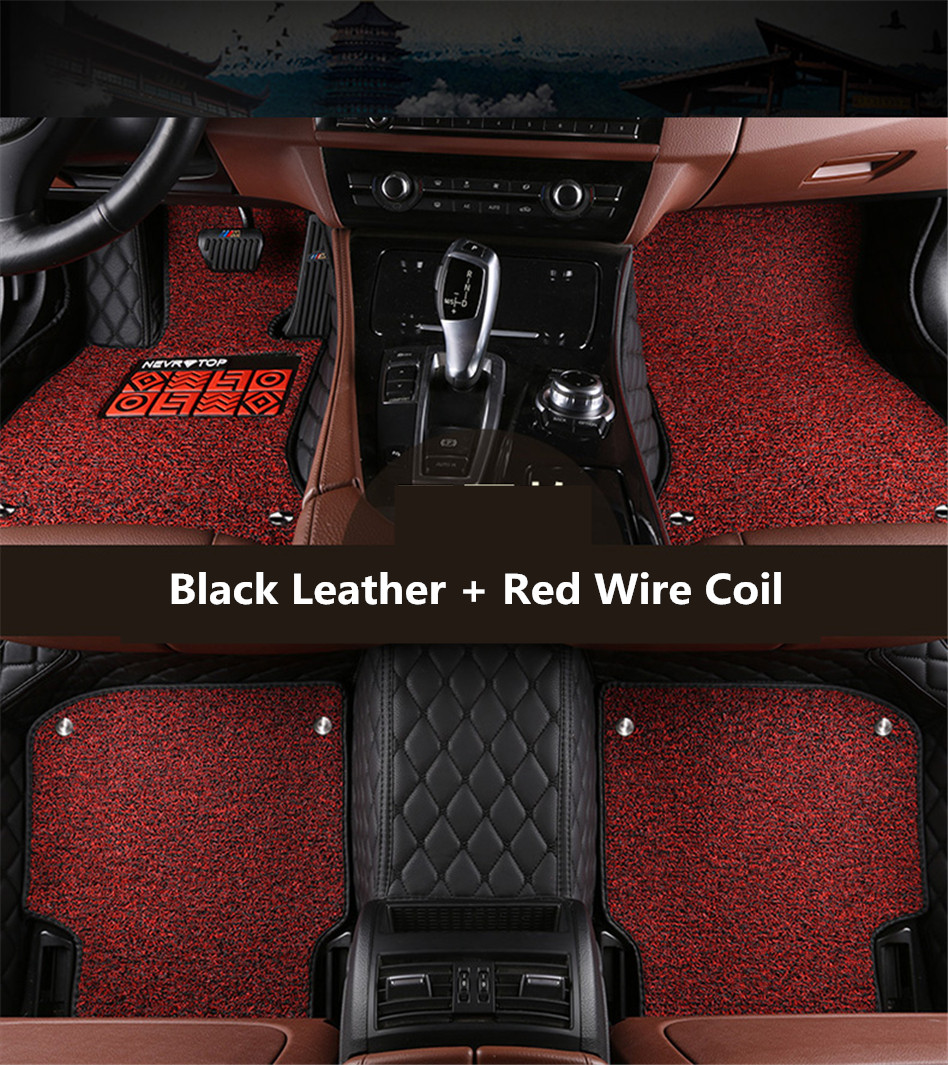 Rubber mats discovery 4 - Auto Floor Mats For Land Rover Discovery Sport 2015 2016 2017 Foot Carpets Car Step Mat