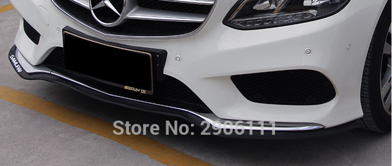2.5M/8.2ft Universal Car Sticker Lip Skirt Protector for Lada kalina granta priora niva largus samara accessories car-styling
