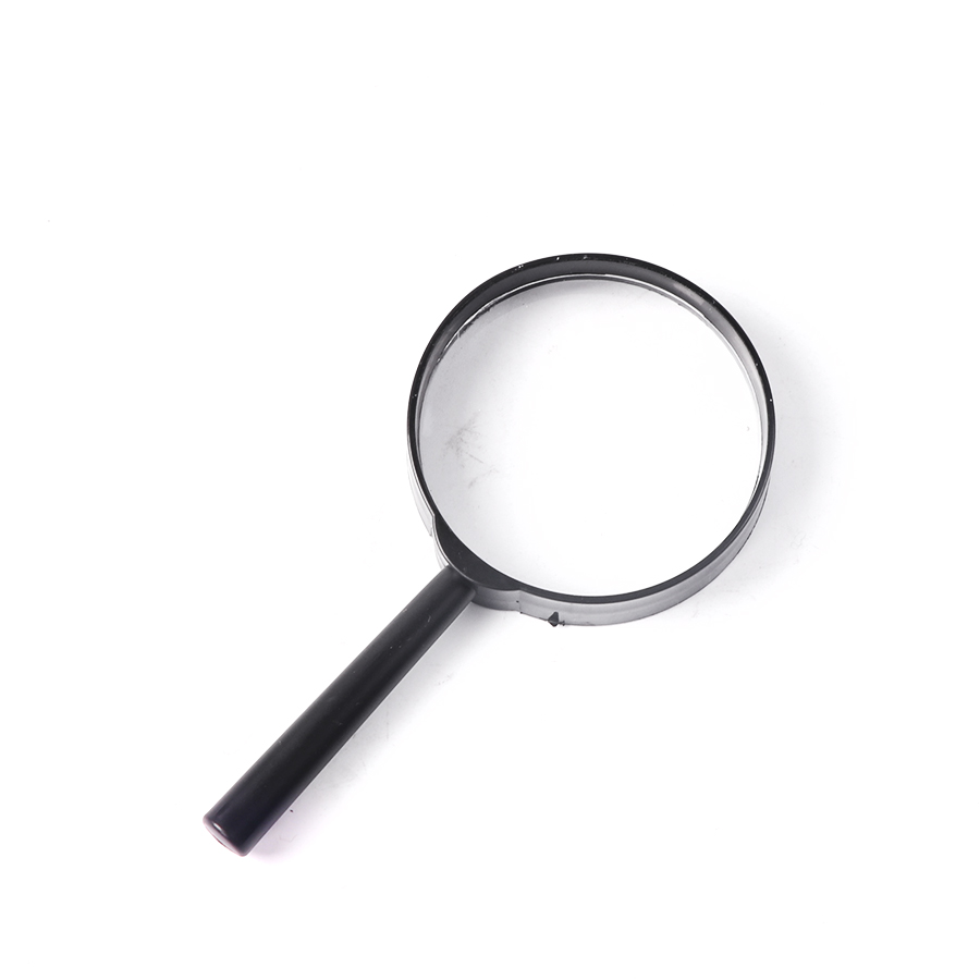 Magnifier 60mm Hand Held 5X Magnifying Loupe Reading Glass Lens