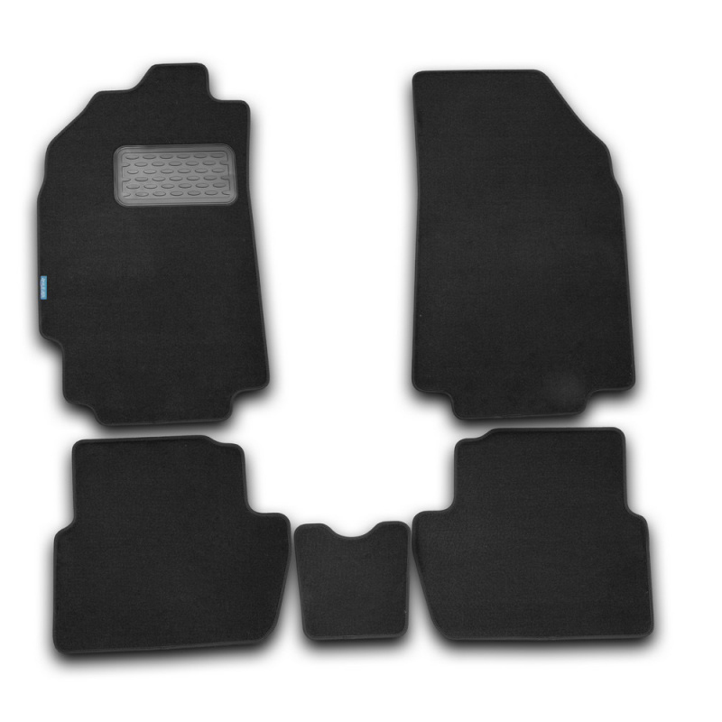 Mats in the salon For CHEVROLET Spark 2005-2010, хб... 4 PCs (textile) цена 2017