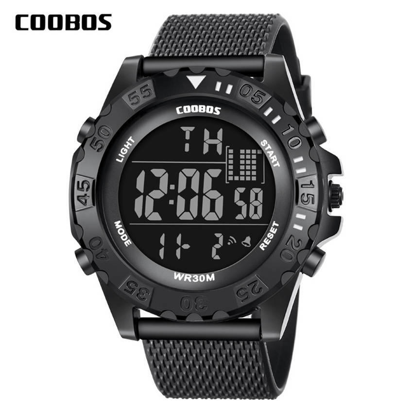 Coolboss Luxury Brand Mens Sports Watches Digital LCD Military Watch Men Fashion Casual Electronics Boy Wristwatches Relojes TopCoolboss Luxury Brand Mens Sports Watches Digital LCD Military Watch Men Fashion Casual Electronics Boy Wristwatches Relojes Top