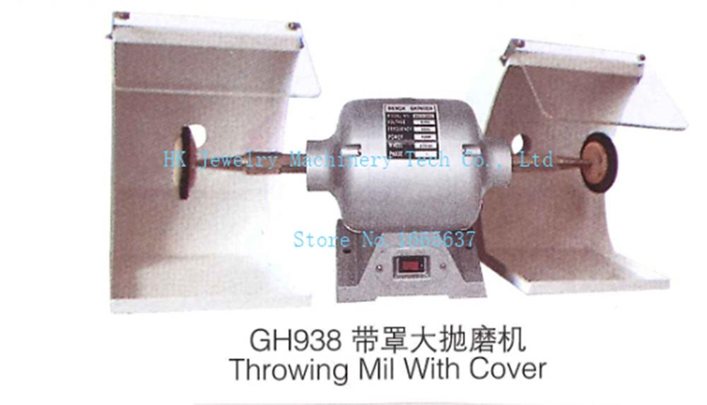 Throwing mill with cover jewelry polishing machine jewellery making supplies