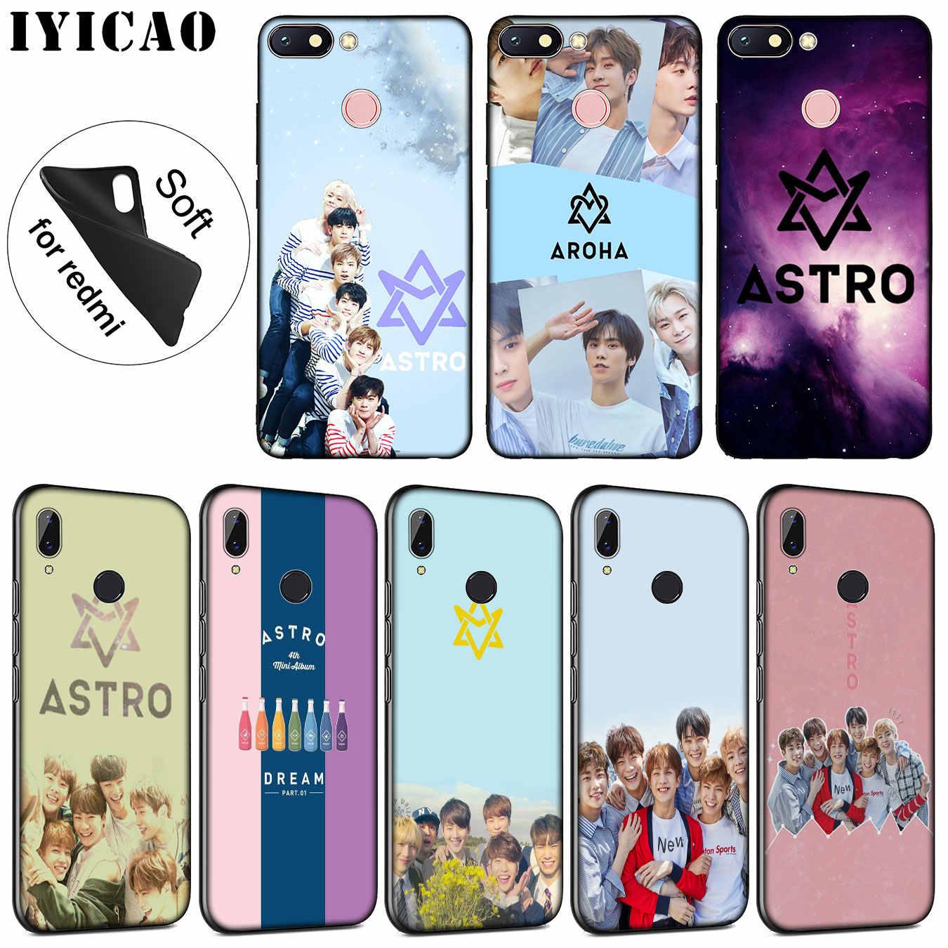 Iyicao Astro Soft Silicone Phone Case For Xiaomi Redmi K30 K20 8a