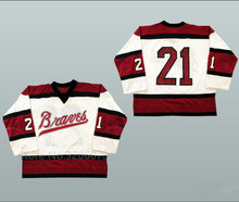 78a2dfd5e Boston Braves Retro Bill Corkery College Ice Hockey Jersey Men s Embroidery Stitched  Customize any number and