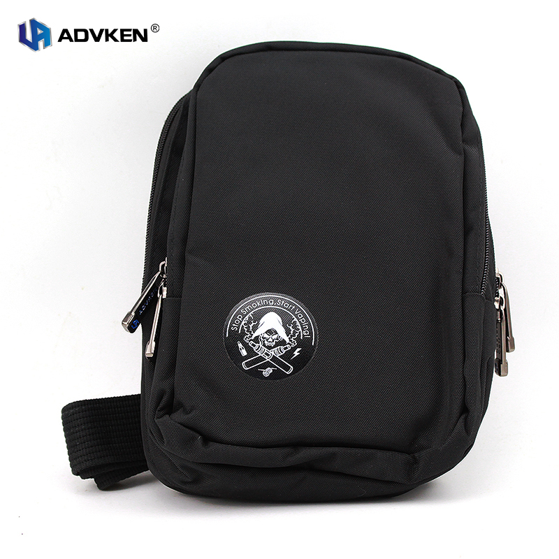Advken 100 Authentic Portable Black Vape Bag Vape Carry Bag without Tools with Multi layers for