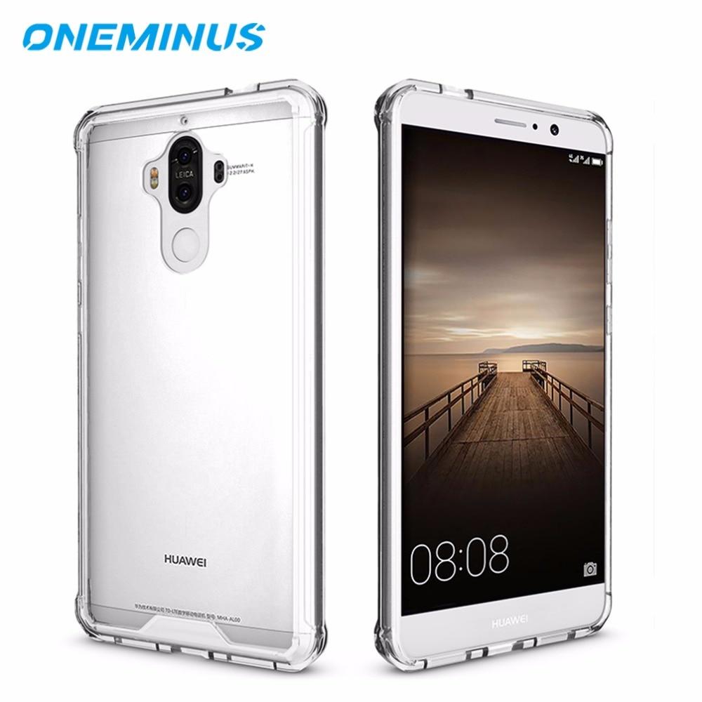 Huawei Mate 9 Case Coque Shockproof Sərt arxa örtük Mate9 üçün - Cib telefonu aksesuarları və hissələri - Fotoqrafiya 1