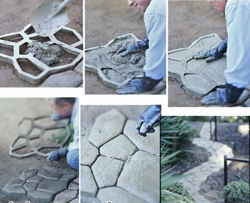 pasarela de hormign jardn molde molde para pavimento hermosos senderos del jardnchina