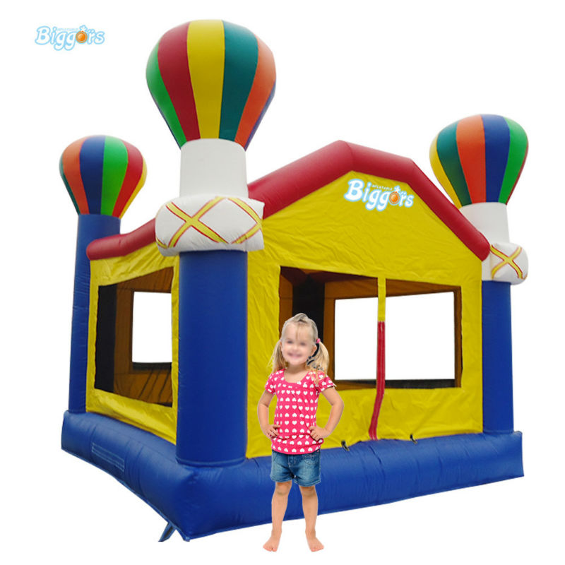 Safety Net Inflatable Jumping Trampoline Portable Inflatable Buncer For Kids купить недорого в Москве