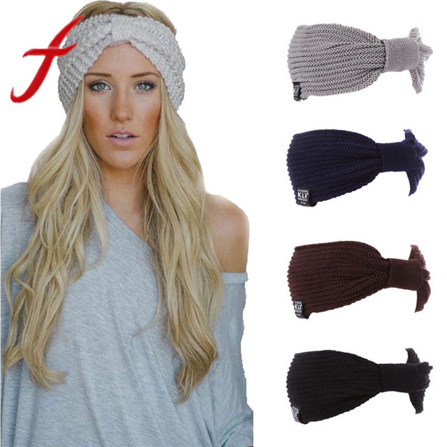 Warm Winter Hat For Women Ladies Ponytail Baggy Beanie Women Stretch Cable Wool  Knitted Messy Bun Hats Slouchy Chic Cap Headwear 9d4fb92508ae
