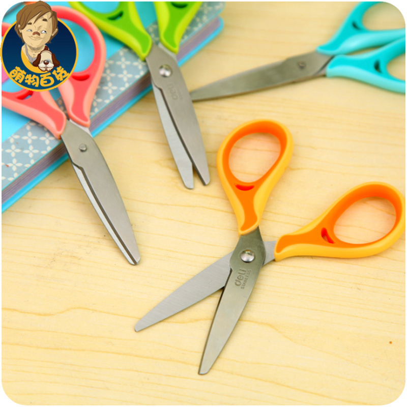 Students Household Items Manually Scissors Widen The Stainless Steel Paper Cutting Knives Scissors