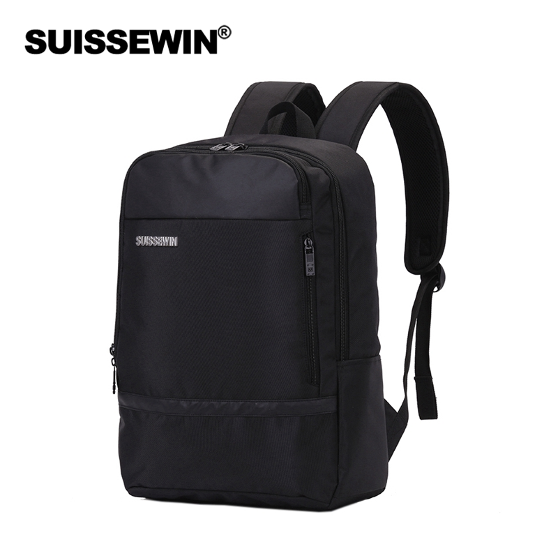 suissewin 15.6 inch travel backpacks men women waterproof Business backpacks School bags Mochila Masculina baijiawei men and women laptop backpack mochila masculina 15 inch backpacks luggage